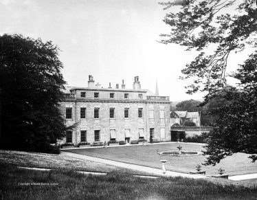 Historical View of Stanmer House.