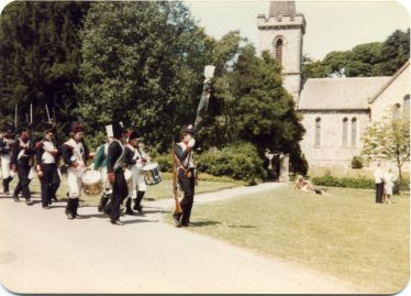 Re-enactment of Napoloeonic Wars at Stanmer