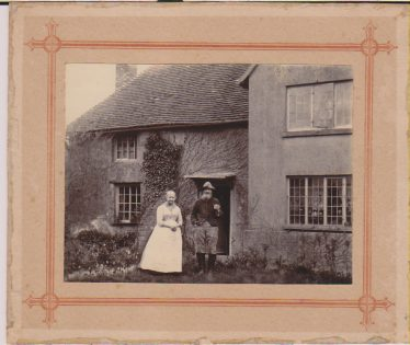 Rhoda and Jacob Driver Jims GParents at East End Farm Cottage