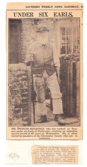 Spencer Mugridge - sepia