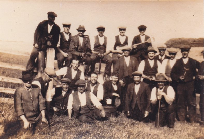 Unknown estate workers