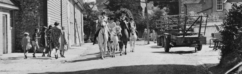 Horses at Long Barn