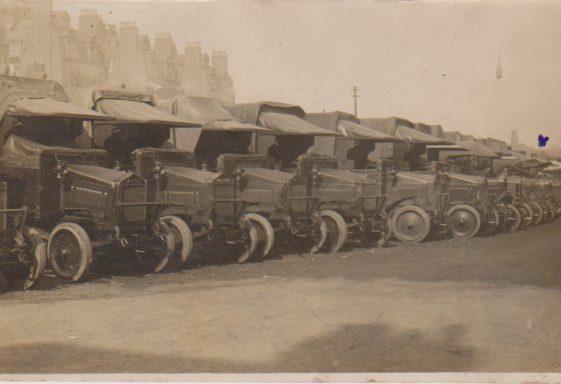 WWI Tanks - A Postcard Home