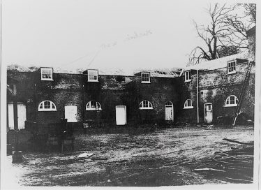 Stable Block where war time names were signed | John Lawrence