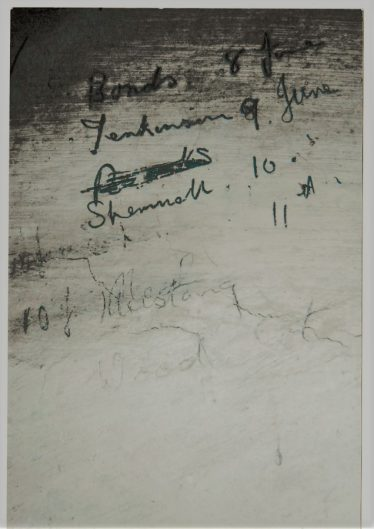 WWII Signatures in the Stable Block | John Lawrence