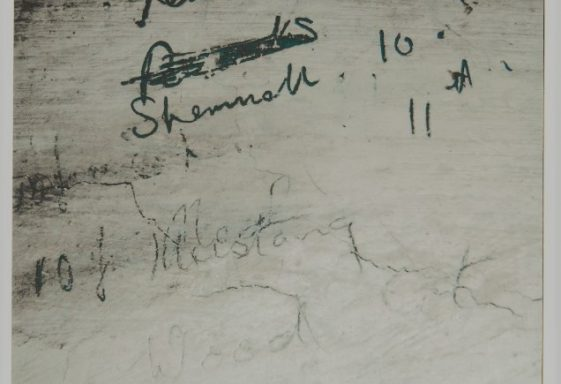 WWII Secret Signatures in the Stable Block