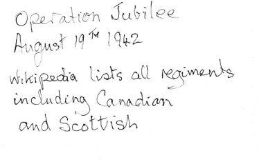 Regiments listed | John Lawrence