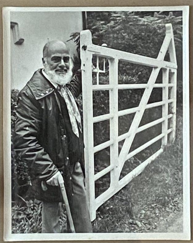 Charlie Yeates at the gate | Yeates Family