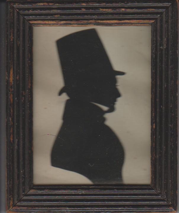 Silhouette of Thomas Jones | From Jones family album