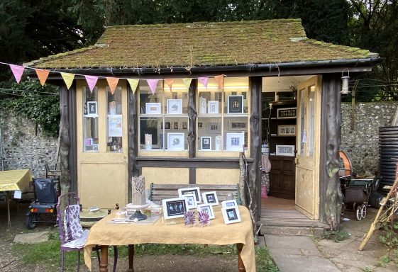 The Tram Shelter studio at Stanmer Craft Museum